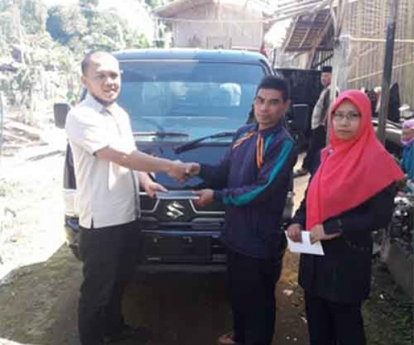 Delivery Suzuki New Carry Pick Up